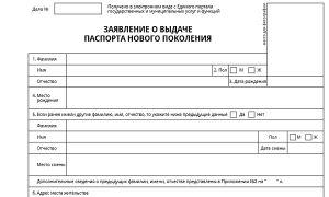 Документы для загранпаспорта нового образца 2019 — 2020 года