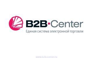B2B Center – торговая площадка