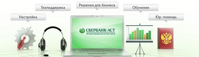 Торговая площадка электронных торгов Сбербанк АСТ